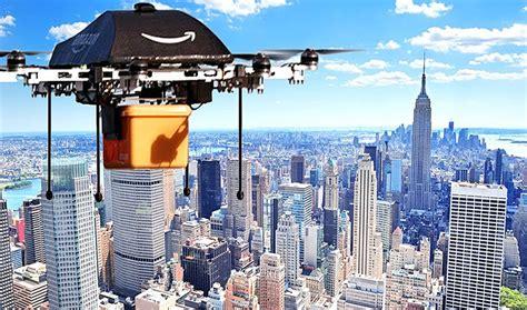 drone delivery amazon drones landing intheblack comes sci fi york taken technology