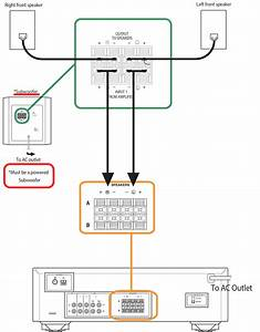 Passive Subwoofer Setup Diagram Wiring Diagram