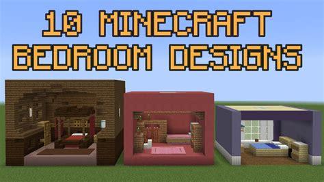 10 Minecraft Bedroom Designs!  Youtube