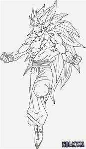 Colering Page Ssj4 Goku Coloring Pages Coloring Home