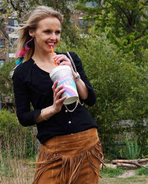 bag at you fashion festival oodt franje rok bag milkshake