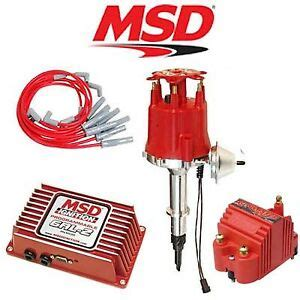 Msd Ignition Kit Programmable Distributor Wires
