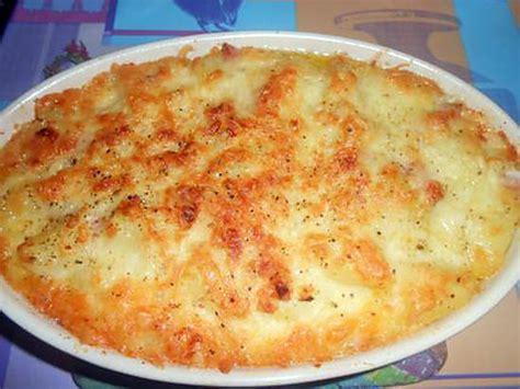 recette de gratin de pommes de terre au maroilles et lardons