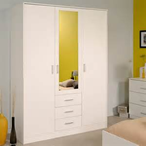 Armoire Chambre Blanche Pas Cher by Armoire Chambre Pas Cher