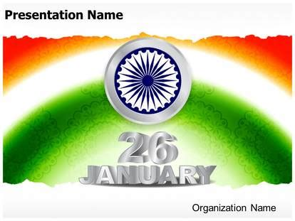 indian republic day powerpoint template background