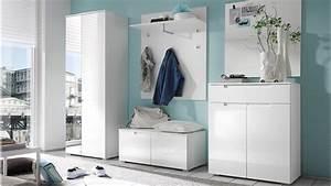 Garderoben Set Shop : garderoben set spice 5 teilig wei hochglanz dielenm bel ~ Sanjose-hotels-ca.com Haus und Dekorationen