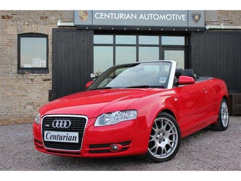 convertible audi red used red audi a4 2007 petrol 3 2 fsi quattro s convertible