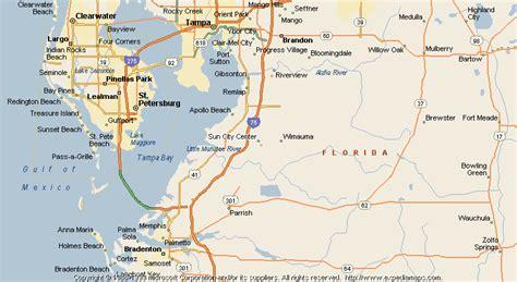 Sun City Florida Map.Showing City Sun Florida Map