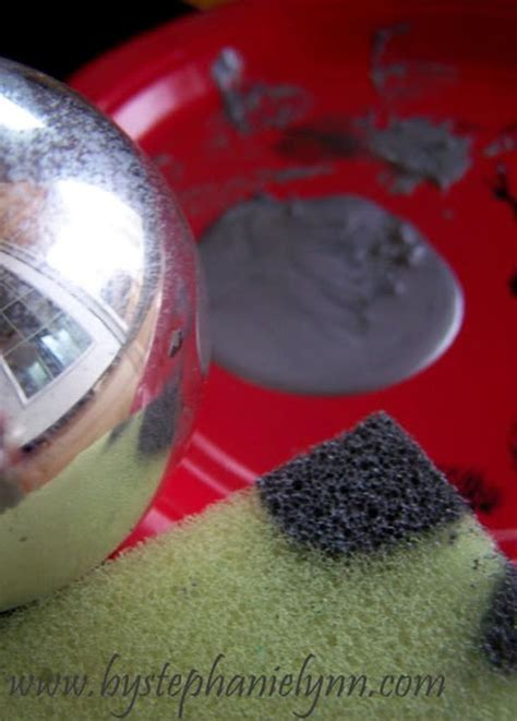 How To Get Faux Mercury Glass Ornaments Using Paint