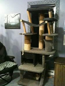 Arbre à Chat Fait Maison : arbre a chat incroyable ~ Melissatoandfro.com Idées de Décoration