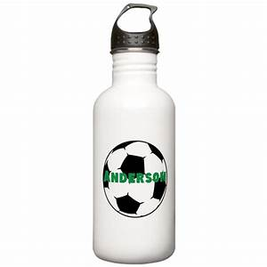 personalized soccer water bottle by personalizedgifts2 With kitchen colors with white cabinets with custom stickers for water bottles