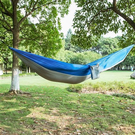 Survival Hammock by Aliexpress Buy 1 Person Parachute Hammock Portable