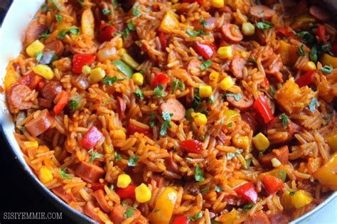 No Tomatoes? Make Jambalaya Jollof Rice! Sisiyemmie
