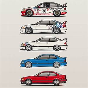 Bmw 3 Series E36 Coupes