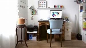 Bureau Pour Chambre : un bureau d co meubles id es astuces conseils c t maison ~ Teatrodelosmanantiales.com Idées de Décoration