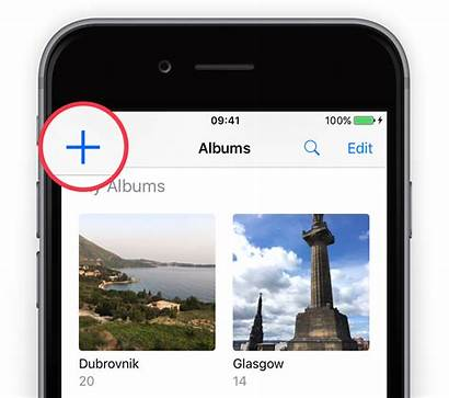 Albums Album Edit Iphone Once Ios Guide