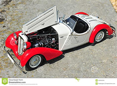 Audi 225 Front Roadster 1935 Vintage Car Scale Replica