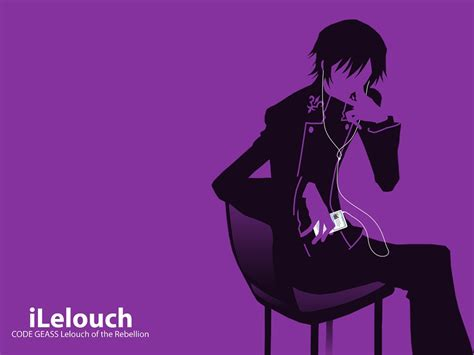 Ipod Anime Wallpaper - code geass ipod purple lerouge lelouch anime 1024x768