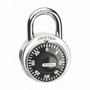 Cadenas à Combinaison : master lock cadenas combinaison standard r no d p t ~ Edinachiropracticcenter.com Idées de Décoration