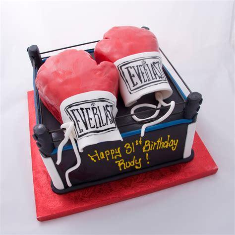crimson cake blog boxing cake