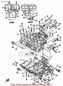 Yamaha Xs1100 1981  B  Usa Crankcase