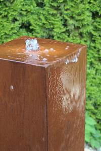 Pumpe Für Wasserspiel : wasserspiel kpl set cortenstahl s ule 100 edelrost wasserwand inkl pumpe becken zierbrunnen ~ Buech-reservation.com Haus und Dekorationen