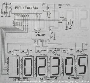 Pic16f84a Digital Clock