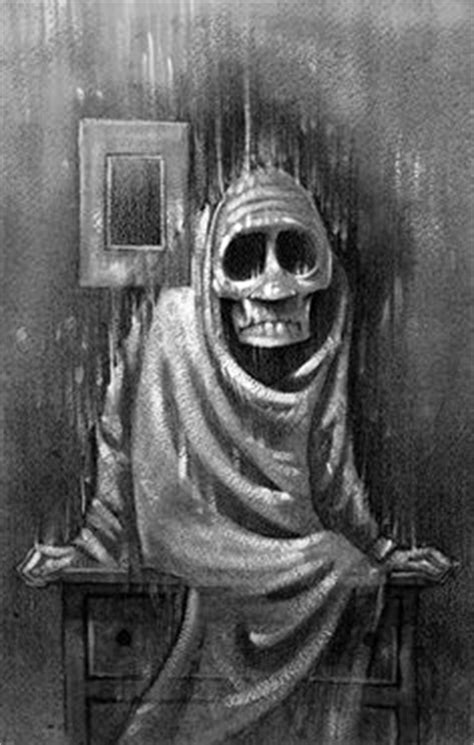 Dark illustration for Scary Stories To Tell In The Dark by