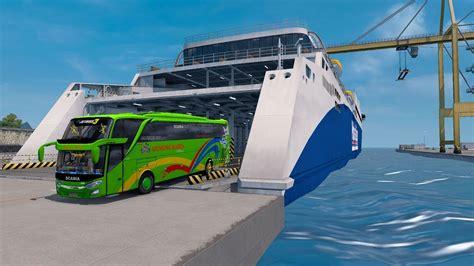 gunung harta naik kapal bali jawa ets bus mod indonesia