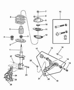 2005 Dodge Grand Caravan Suspension - Front