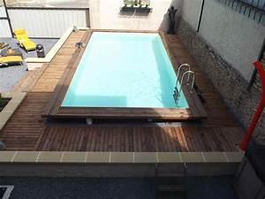 Piscine Enterrée Rectangulaire : piscine bois enterr e rectangulaire criativo pinterest ~ Farleysfitness.com Idées de Décoration