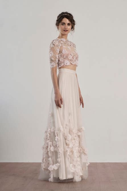 Two Pieces By Domiadream the two wedding dress cecilie melli