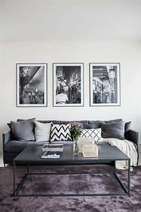 davausnet deco salon blanc gris rose avec des idees With les couleurs grises 7 30 inspirations deco pour votre salon blog deco mydecolab
