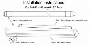How To Install T8 Led Tube Light