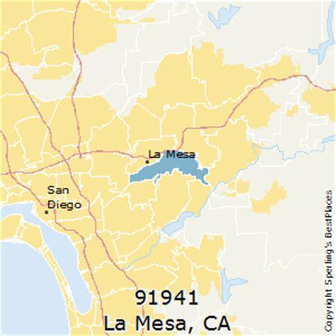 places    la mesa zip  california
