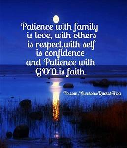 Patience with f... God And Confidence Quotes