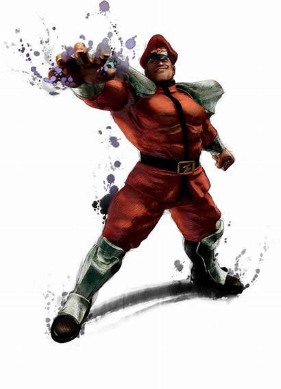 Fighter Street Bison Super Iv Artwork Transparent