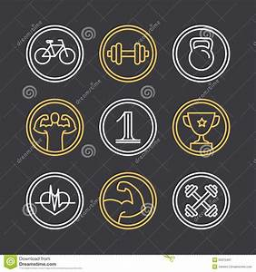 Vector Crossfit Logos And Emblems Stock Vector - Image ...