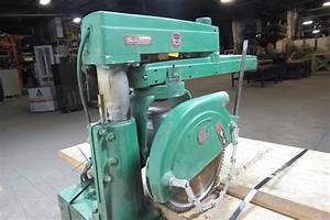 Rockwell Delta 12 U0026quot  Radial Arm Saw 480v Only W  Manual