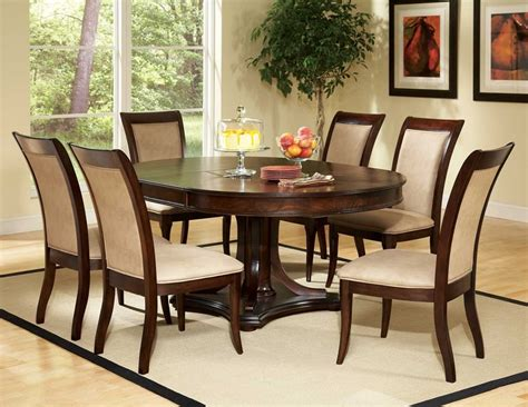 oval dining room set quality furniture