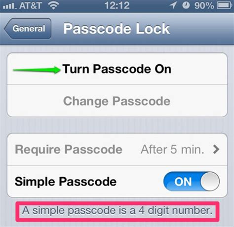 turn passcode on iphone how to secure your ios device with a longer passcode the