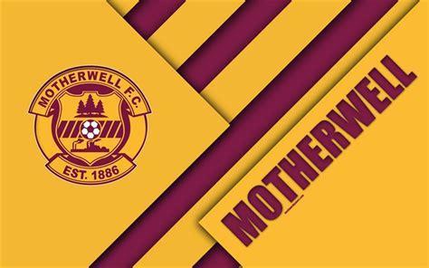 Download wallpapers Motherwell FC, 4k, material design ...