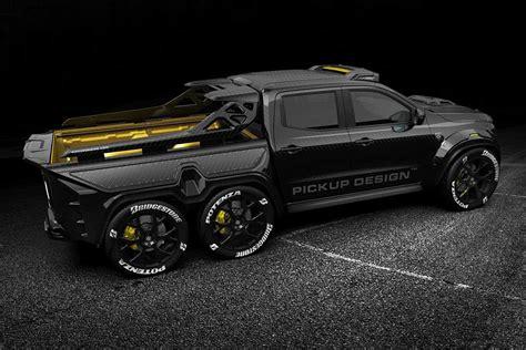 6 X 6 X 6 X 6 by Carlex Design Envisions Mercedes X Class 6x6 Track