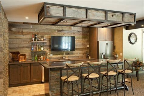 awe inspiring rustic home bars   unforgettable party