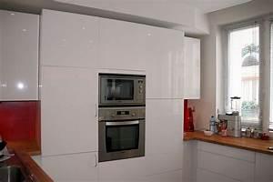 Cuisine Blanche Ikea : cuisine ikea blanc laqu ~ Preciouscoupons.com Idées de Décoration