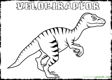 raptor coloring pages   print