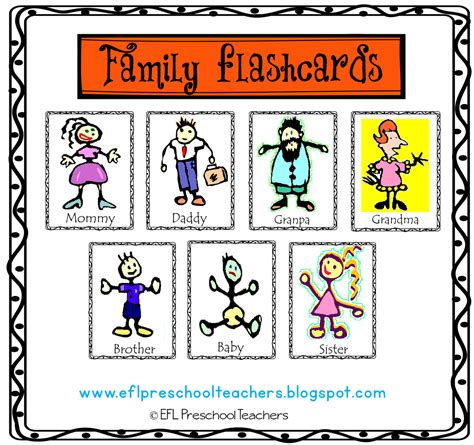 Eslefl Preschool Teachers Family Theme Ideas For Preschool Ela