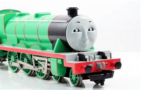 Bachmann Ho Thomas Range 'henry' Big Green Engine