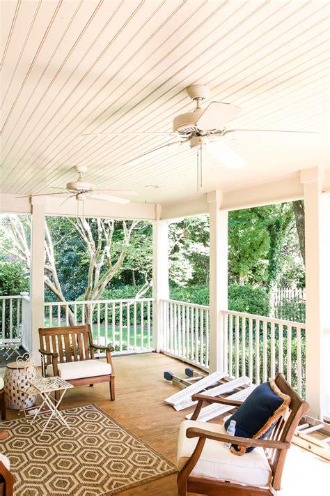 haint blue porch ceiling makeover bless er house
