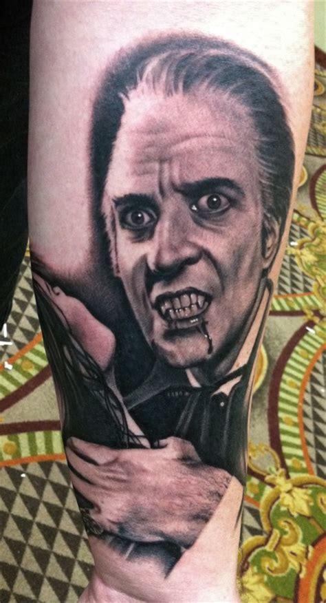 christopher lee  bob tyrrell tattoos